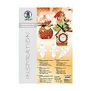 Ursus 55850099 - Inspiration Stencil Set Of 6, 3 Stencils for Christmas Gift Box, Multi-Colour