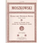 ENOCH ECOLE DES DOUBLES NOTES POUR PIANO Op. 64