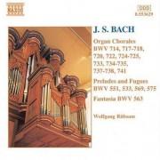J.S. Bach - Organ Chorales Bwv 714/71 (0730099462921) (1 CD)