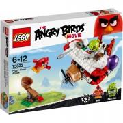 LEGO Angry Birds: Piggy vliegtuigaanval (75822)
