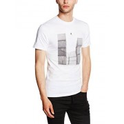 Vans GR PHOTO TEE Camiseta Hombre, blanco (White), X-Large ( X-Large)