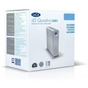 LaCie D2 Quadra USB 3.0 2 TB External Hard Disk Drive(Grey)