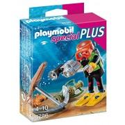 Playmobil - Especial, submarinista - tesoro (4786)