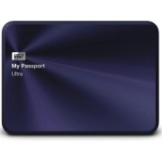 HDD Extern Western Digital My Passport Ultra Metal Edition, 2TB, 2.5 inch, USB 3.0 (Albastru inchis)