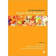 The Sage Handbook of Social Work Research by Ian Shaw