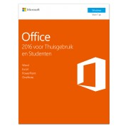 Microsoft Office 2016 Thuisgebruik& Student 1PC WIN