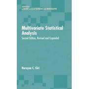 Multivariate Statistical Analysis by Narayan C. Giri
