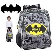 4242351 Zaino a spalla scuola e tempo libero Batman cartella Marvel 30 x 16 x 40 cm