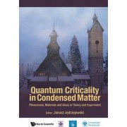 Quantum Criticality In Condensed Matter: Phenomena, Materials And Ideas In Theory And Experiment - 50th Karpacz Winter School Of Theoretical Physics by Janusz Jedrzejewski