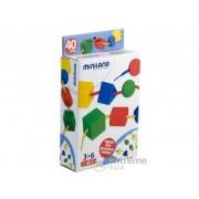 Miniland, Joc cu forme geometrice pentru sortat si insirat (ML-31755)