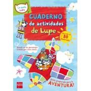 Cuaderno de actividades de la gata Lupe by Lara Jones