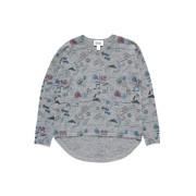 【51%OFF】カシミヤ混 プリント テールカットヘム ニットトップ グレー 14 ベビー用品 > 衣服~~ベビー服