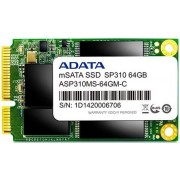 SSD A-DATA SP310, 64GB, mSATA