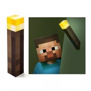 ThinkGeek Officially Licensed Minecraft Light-Up Wall Torch