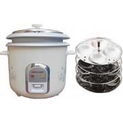 JAOHN CCOOK 1.8 L Electric Rice Cooker(1.8 L, White)
