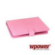 """WPOWER 9"""" Billentyűzetes Tablet tok, pink, EN-HU"""