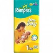 Scutece Pampers New Baby 1 New Born 43 buc