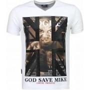 Local Fanatic Iron Mike Tyson - T-shirt - Wit