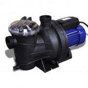 vidaXL Електрическа помпа за басейн, 1200 W, цвят син