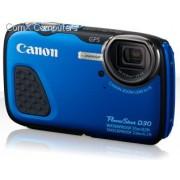 Canon Powershot D30 Blue 12.1MegaPixel Digital Camera