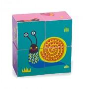 Vaya 16.009,1 LHB - Fácil de juguetes de madera bloque en diseño colorido, animal lindo con el búho y amigos