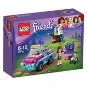 Lego- friends l'auto per esplorazioni di olivia