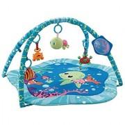 EMILYSTORES Princess Prince Baby Activity Play Gym Mats Ocean Park 30 x30