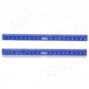 Magnet + Plastic Magnetic Stripes w/ Scale - Deep Blue (2 PCS)