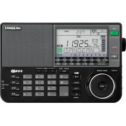 ATS-909 X Digitális szintézeres világvevő rádió fekete