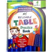 Reusable Book Table Practice Book