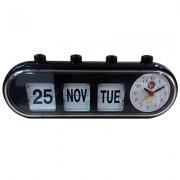 GMH Retro Capsule Manual Alarm Clock - Black