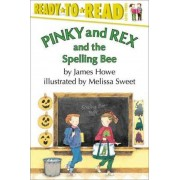 Pinky and Rex and the Spelling Bee by Melissa Sweet
