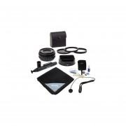 Fujifilm XF 18mm (27mm) F/2.0 Lens - Bundle With 52mm Filter Kit(UV/CPL/ND2), Lens Wrap (15x15), Cleaning Kit, Lenspen Lens Cleaner