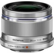 Obiectiv Foto Olympus M.ZUIKO DIGITAL 25mm 1 1.8 Argintiu