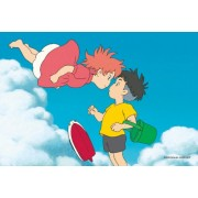 Regards 150 piece puzzle mini Studio Ghibli cinema art 2 Shot Series 2, Sosuke! (Ponyo on the Cliff by the Sea) 150-G16 (japan import)
