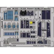 Eduard Photoetch (Zoom) 1:72 - Gannet AS.Mk.1/4 interior S.A. (Revell) - EDPS...