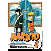 Naruto: v. 4 by Masashi Kishimoto