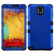Funda Protector Triple Layer Samsung Galaxy Note 3 N900 Azul Titanium / Negro