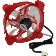 Ventilator Inter-Tech CobaNitrox R-120-R 120mm (LED Rosu)