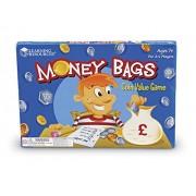 "Learning Resources Money Bags - Gioco da tavola ""Guadagna e Risparmia"""
