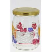Summer Marmelade 0,5 literes mintás befőttes üveg tetővel - 165265
