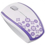 Westgear M-515 Wireless Designer Portable Mouse - Purple Pattern (120-1282)