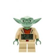 ClicTime - 9003080 - Lego Star Wars Yoda Minifiguren Wecker - mehrfarbige