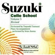 Suzuki Cello School, Volume 5 by Tsuyoshi Tsutsumi