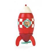 Janod - Kit para cohete magnético de madera (Juratoys J05207)