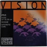 Thomastik VI200 Vision Saitensatz mittel für Viola/Bratsche Thomastik Vision Saitensatz Nylonkern Viola / Bratsche