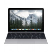 Laptop Apple MacBook : 12 inch Retina, Core M 1.1GHz, 8GB, 256GB, Intel HD 5300, INT KB, mjy32ze/a - Space Gray