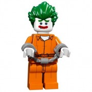 Mini Figurine Lego® Serie 17 - The Batman Movie : Arkham Asylum Joker