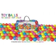 Pack Of 100 Bright Color Ball Pit Balls For Kids