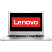 Laptop LENOVO IdeaPad 510, Intel Core i7-6500U, 15.6'' FHD IPS, 8GB DDR4, 500GB, GeForce 940MX 4GB, FreeDos, White